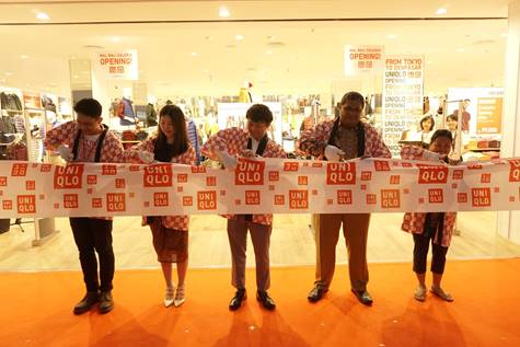 UNIQLO Open its First Store at Mall Bali Galeria