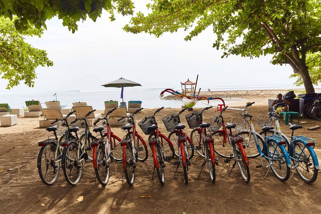 Cycling in sanur - insight bali