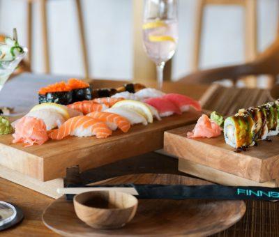 Sushi at Finns Beach Club