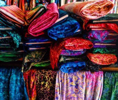 Cheap Shop for Fabrics at Jalan Sulawesi