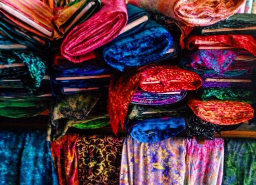 Cheap Shop for Fabrics at Jalan Sulawesi