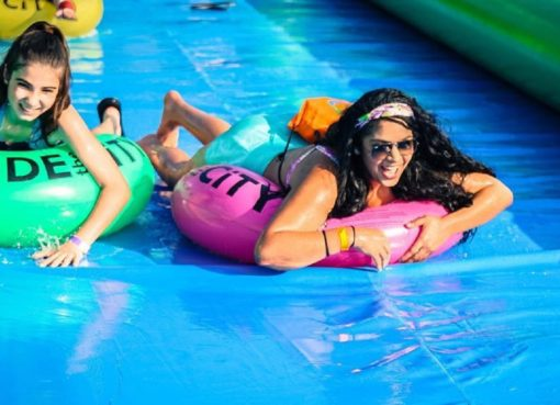 Slide The City: The Longest Slip and Slide is Here in Bali