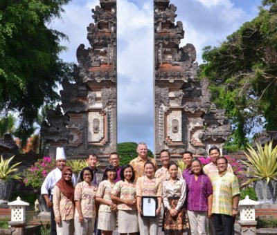 Nusa Dua Beach Hotel & Spa is recognised as Indonesia's Leading Thematic Resort