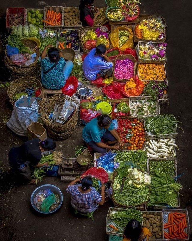 Ubud market - insight bali