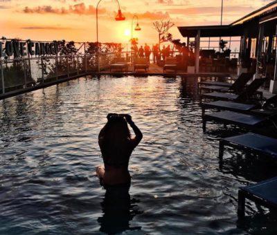 Canggu's Spectacular Sunset at UpZcale Sky Dining & Bar