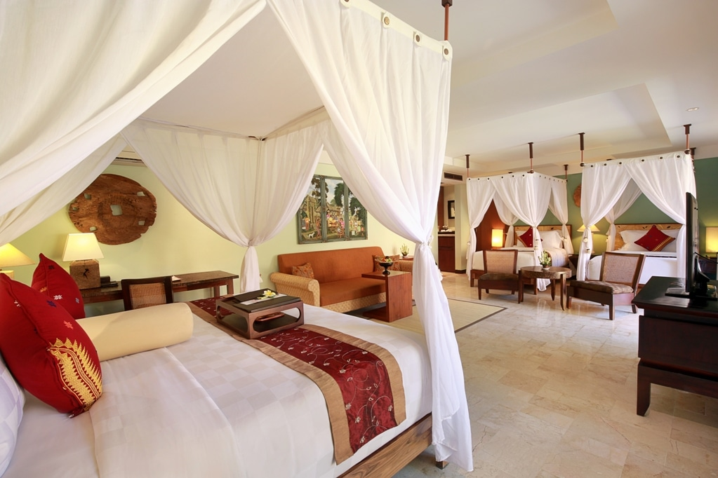 Family Villa - Rama Beach Resort & Villa - insight bali