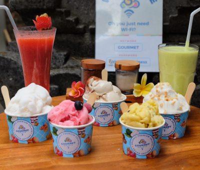 Gourmet Gelato Ubud: a Stopover for Premium with Vegan Options of Gelato