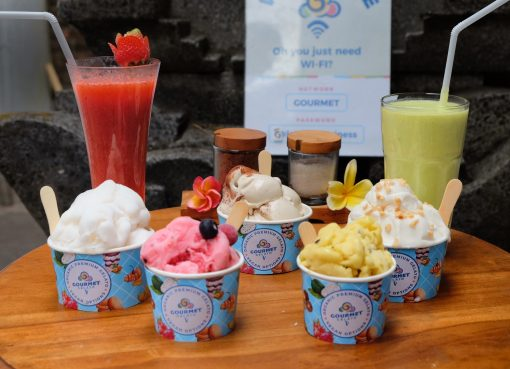 Gourmet Gelato Ubud: a Stopover for Premium with Vegan Options of Gelato