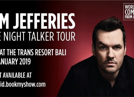 Australia Day With Jim Jefferies at The Trans Resort Bali