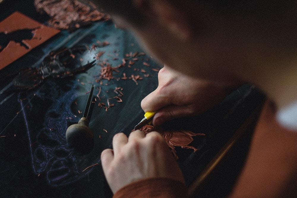 Leather artisan - insight bali