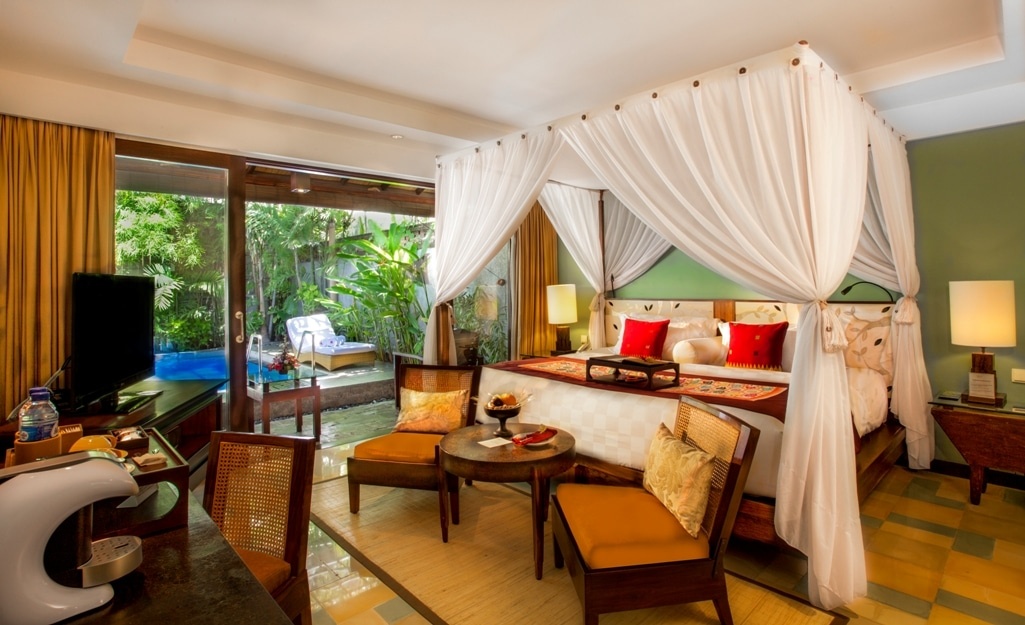 Pool vIlla pars - Rama Beach Resort & Villa - insight bali