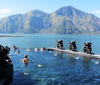 Savoring The Hot Spring in Mount Batur
