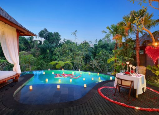 Romantic villa in Ubud. Aksari Resort Ubud