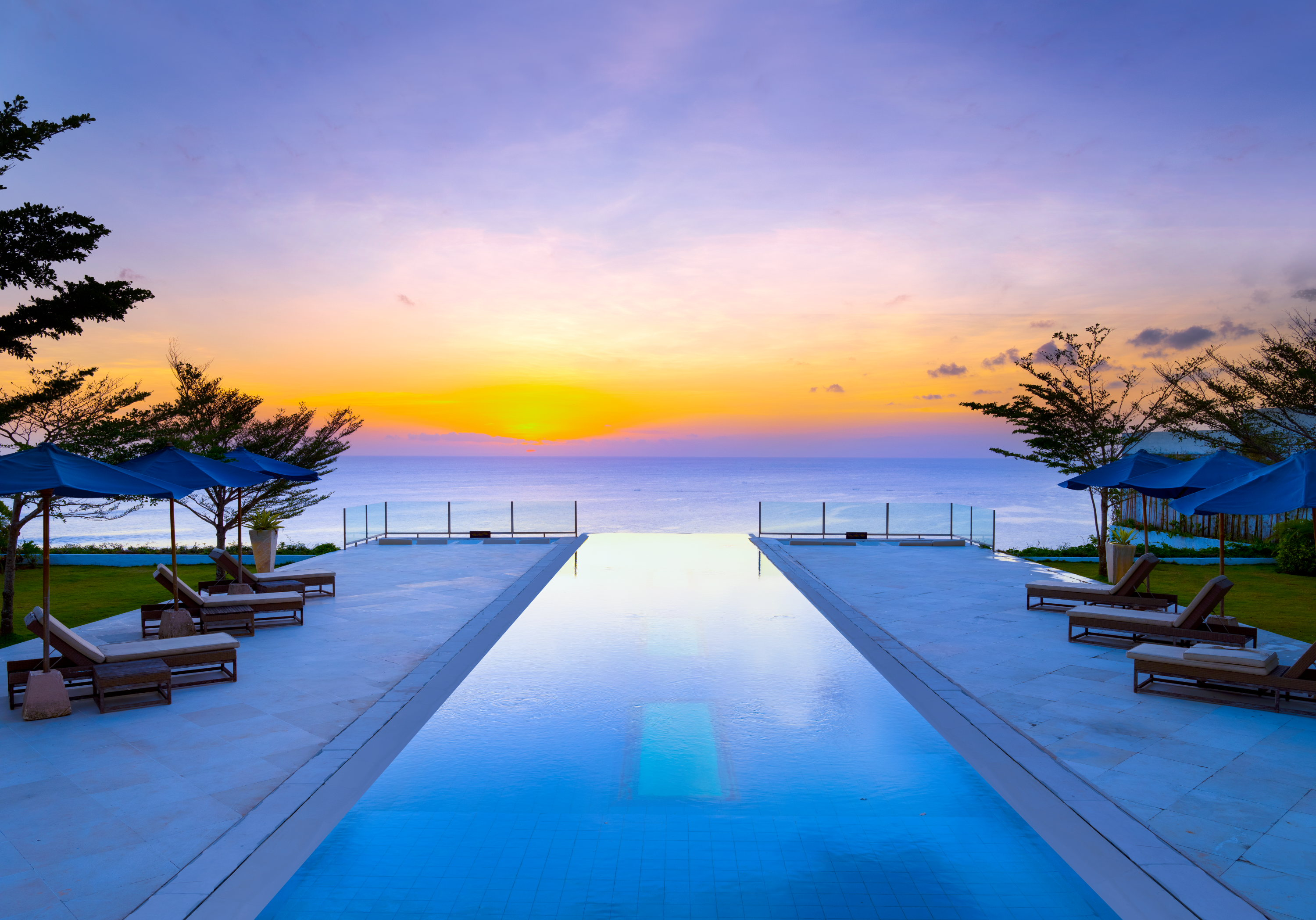 Venues for Sunset Time in Bali for Every Budget in villa