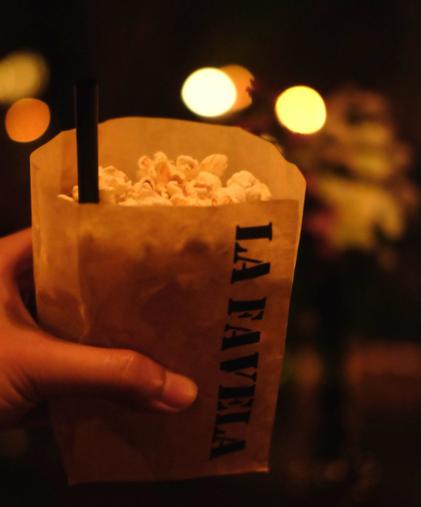 Popcorn cocktails La Favela