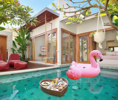 Only IDR 990.000 Voucher Stay at The Jimbaran Villa
