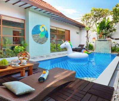 Voucher Stay The Vie Villa – 5 Bedroom Villa only IDR 1.500.000/night